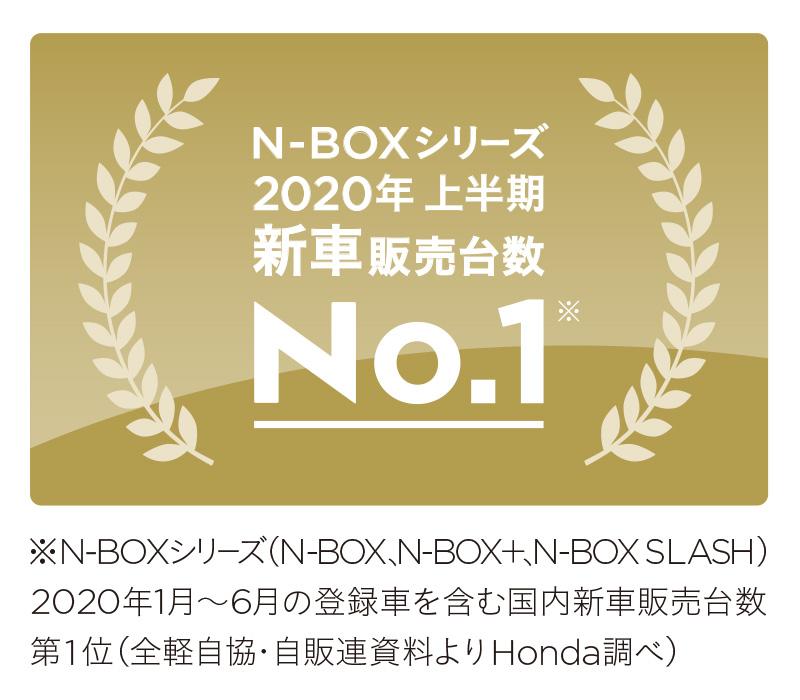「N-BOX」シリーズが2020年上半期 新車販売台数 第1位を獲得